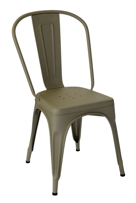 Chaise Tolix A by Chaise Tolix A Bronze