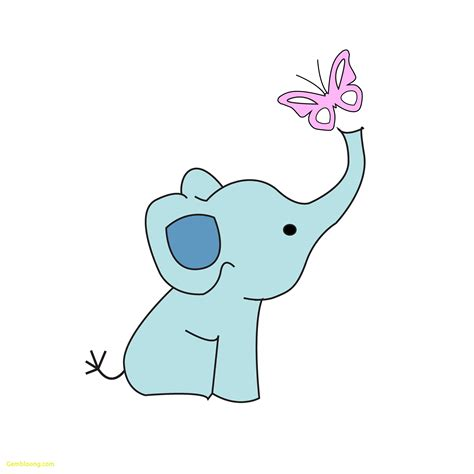 New Elephant Cut Out Template Best Templates Elephant String Template