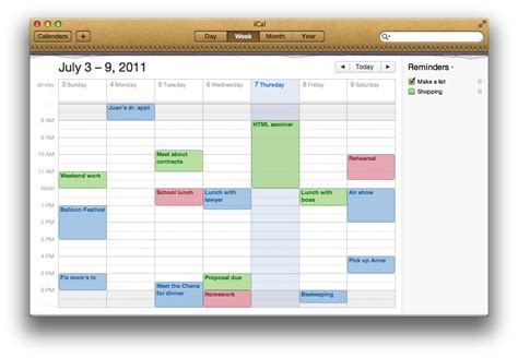 Icalendar For Windows Mac Basics Ical Os X And Earlier Apple Support