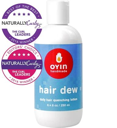 Oyin Handmade Hair Dew Review - oyin handmade hair dew 8 4 oz naturallycurly