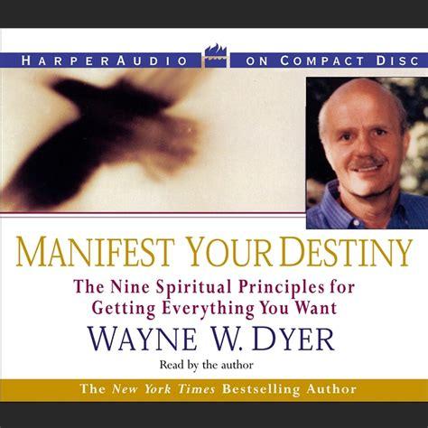 Manifest Your Destiny manifest your destiny audiobook abridged listen