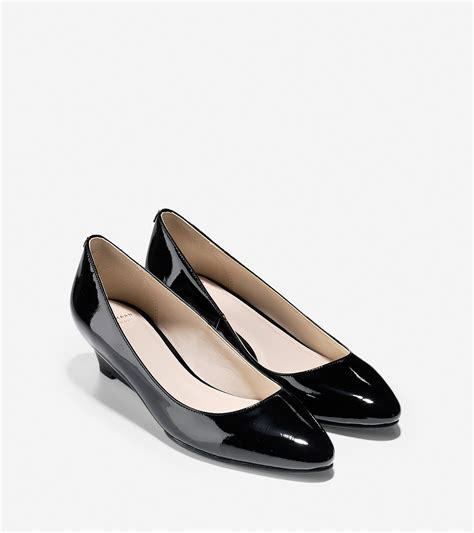 Sale Wedges Tali Ntb03 cole haan tali bow wedges in black lyst