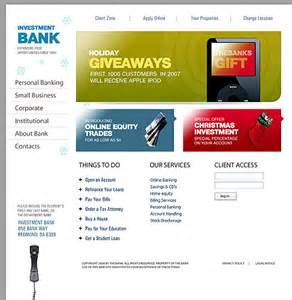 bank templates 35 bank website templates sixthlifesixthlife