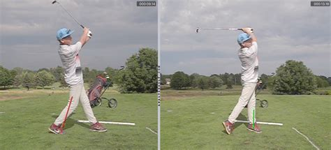 golf baseball swing baseball vs golf in one picture instructional droplets