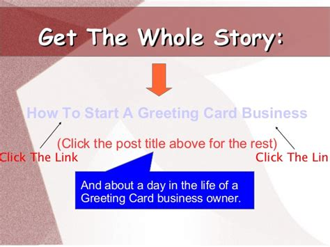 starting a card business how to start a greeting card business for profit