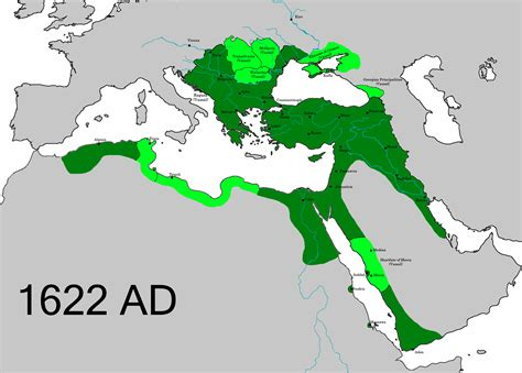 ottoman empire at its largest file ottomanempire1622 png wikipedia