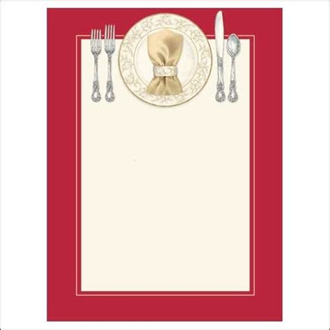 Blank Dinner Invitation Template Free Design Templates Dinner Invitation Templates Free
