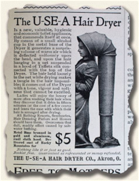 Hair Dryer History not quite a portable hairdryer history s newsstand