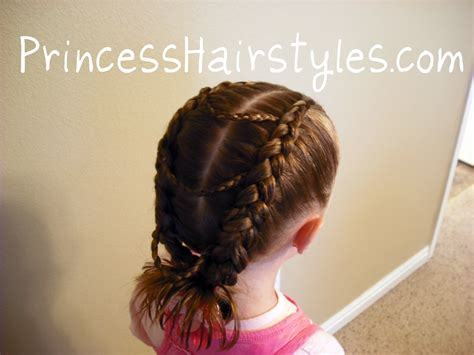 fancy princess braids hairstyles for princess