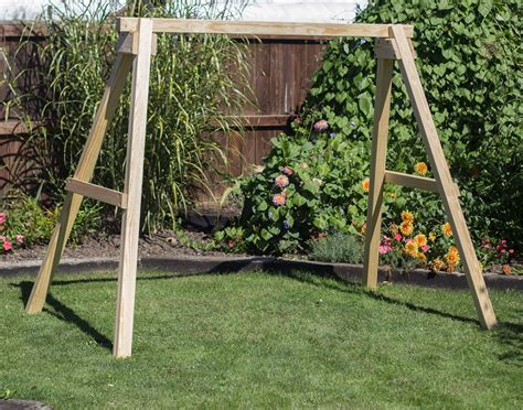 swing set posts 4 x 4 post treated pine swing stand