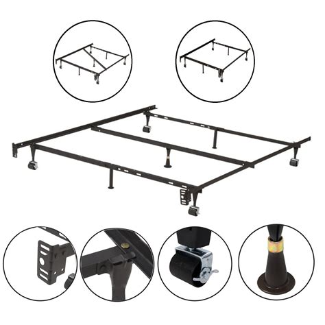metal bed frame parts kings brand furniture adjustable metal bed frame bedding