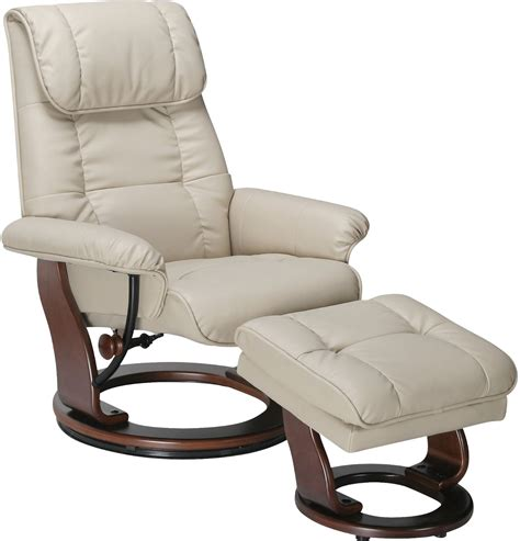 Dixon Taupe Reclining Chair Ottoman The Brick Reclining Chair And Ottoman