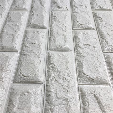 peal and stick wall paper peel stick 3d wall panels white 3d brick wallpaper 2 6 x 2 3