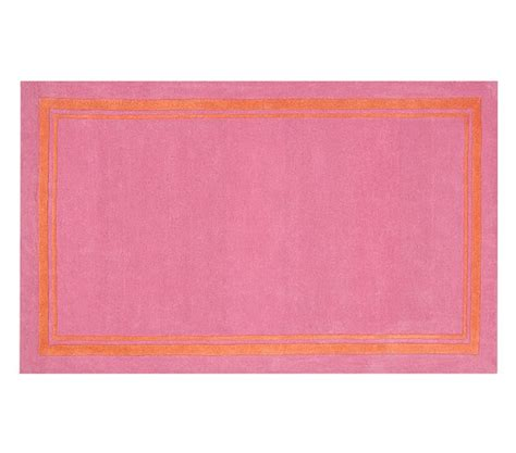 orange pink rug rug bright pink orange pottery barn