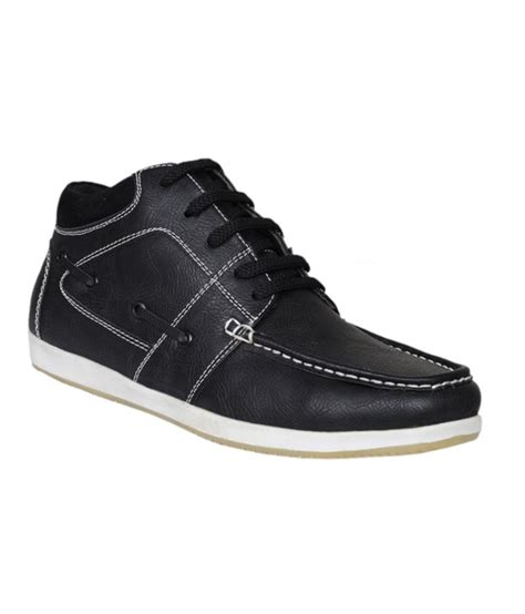 bata black leather lace casual shoes price in india buy