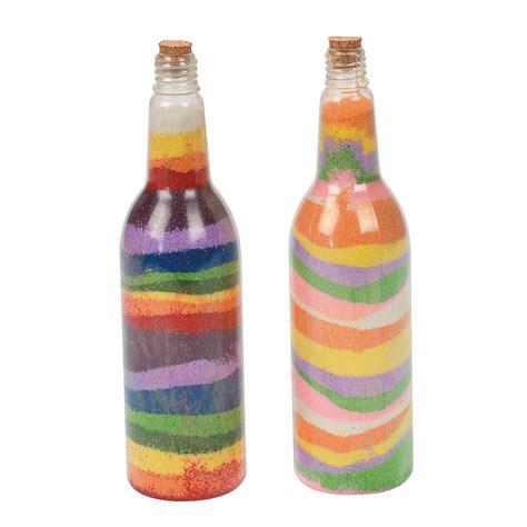 tropical sand art bottles oriental trading