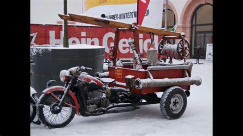 Oldtimer Motorrad Emw R35 by Emw R35 Eigenbau Dreirad Feuerwehr Ddr Umbau Tuning