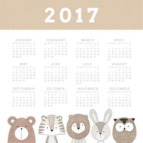 Kalender 2017 Kostenfrei 2017 Sch 246 Ne Kalender Der Kostenlosen Vektor