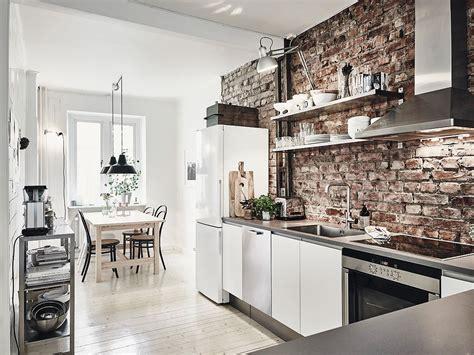 apartamentos con apartamento n 243 rdico moderno con paredes de ladrillo visto