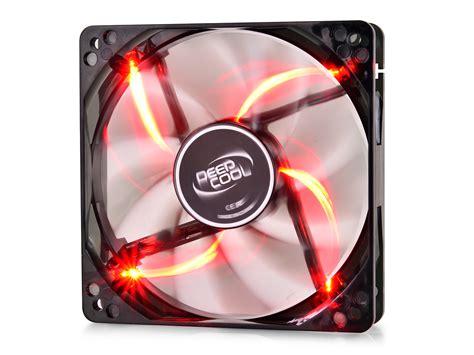 Deepcool Xfan 80 L R Transparent Fan Frame Led Fan 8 Cm wind blade 120 r deepcool accessory