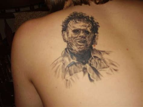 leatherface tattoo leatherface