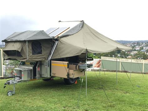 designboom trailer uev 440 cape york cing trailer by conqueror australia