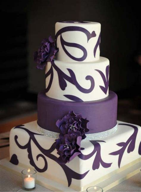 classic purple and white wedding cake with marzipan roses 317 best images about purple wedding ideas and inspiration