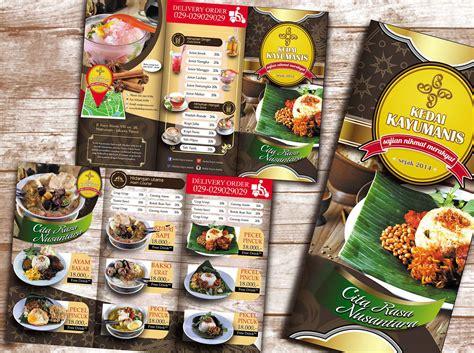 cara membuat brosur restoran 72 desain brosur dengan illustrator 10 contoh desain