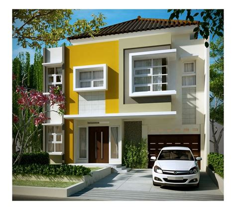 contoh rumah minimalis sederhana tapi mewah
