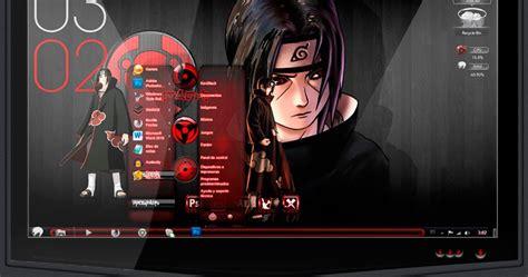 descargar tema de naruto shippuden para windows 7 ultimate tema de uchiha itachi para windows 7 2014 kevblack