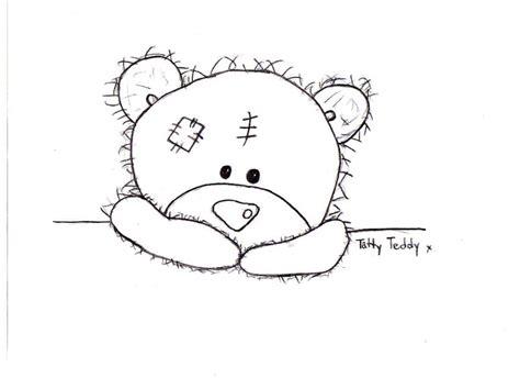 tatty teddy colouring pages dopepicz tatty teddy