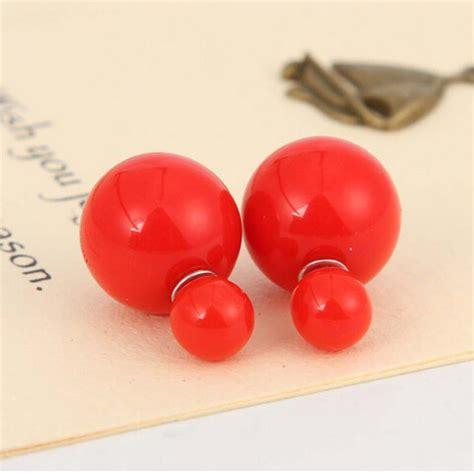 Anting Ear Ring Pearl korean size big pearl earrings anting wanita jakartanotebook