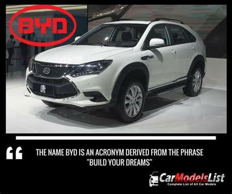 byd car models list complete list   byd models