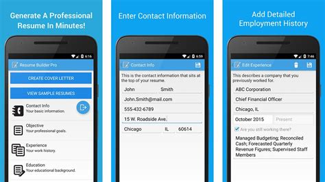 resume builder app for android 10 best search apps for android android authority