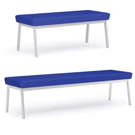 reception bench lesro newport series reception benches