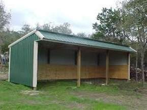 complete 3 sided shed plans la sheds build