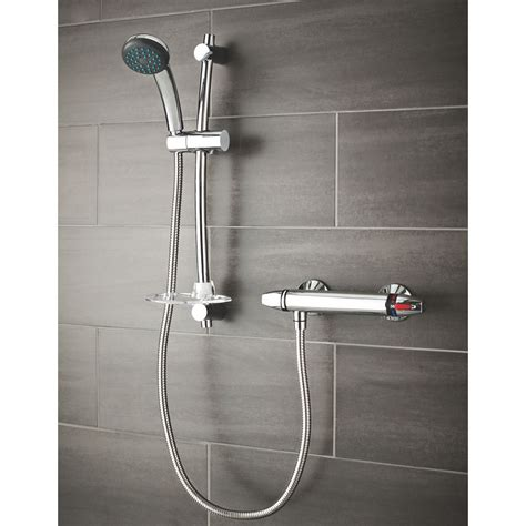 Swirl Thermostatic Mixer Shower Valve by New Triton Luca Thermostatic Mixer Shower Exposed