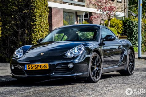 Porsche Cayman S Mkii Black Edition 29 April 2015
