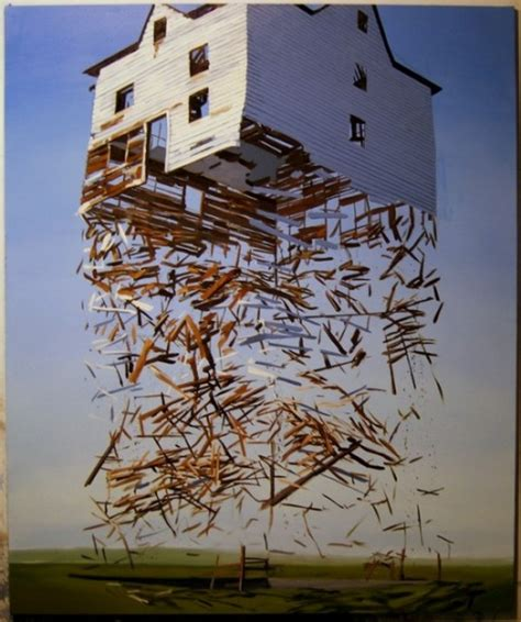 House Artists by Exploding Structures By Artist Ben Grasso