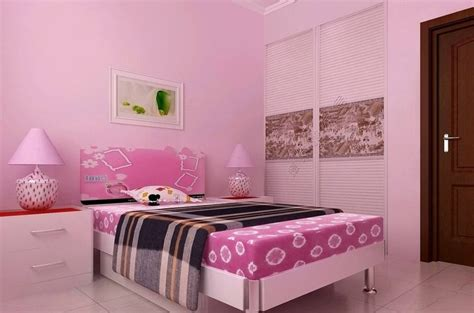 pink bedroom furniture sets and wall picture interior design