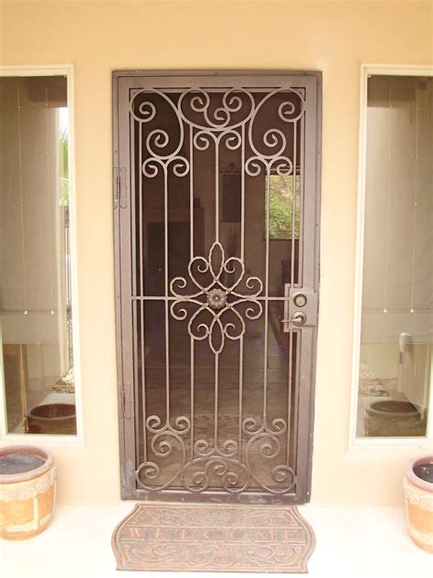 Security Screen Doors Arched Security Screen Doors Front Door Security Screen