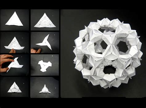 Paper Folding Models - student works beyond prototype features archinect