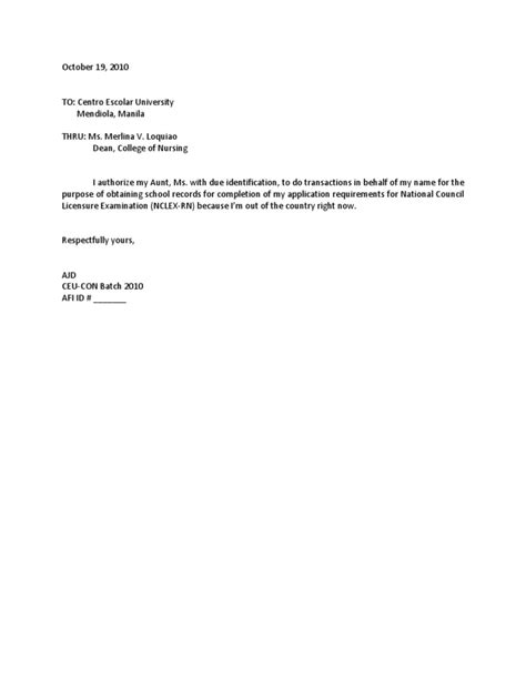 Authentication letter for nso marriage