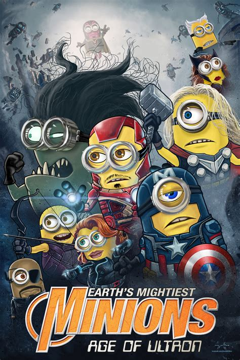 imagenes de minions avengers earth s mightiest minions avengers age of ultron by