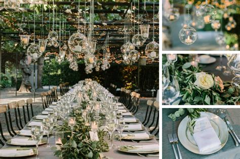 Candlelight Color Greenery Trend For Weddings Hey I Am Lili