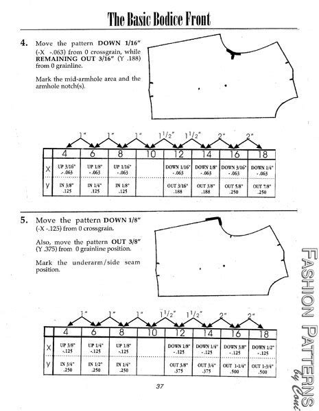 pattern grading tutorial pin by sara peterson on sewing tutorials pinterest