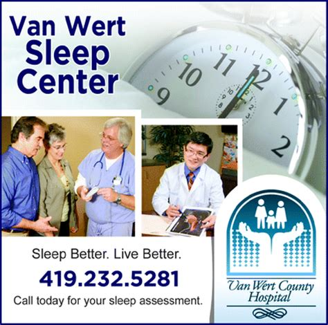 your sleep specialists in van wert ohio sleep center at van wert county hospital van wert oh