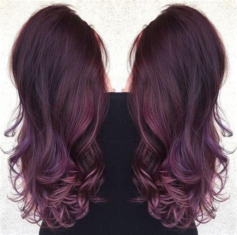 amethyst hair color best 20 hair color ideas on