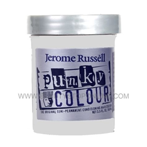 jerome russell punky color hair dye platinum toner ebony jerome russell punky colour platinum blonde toner 1452