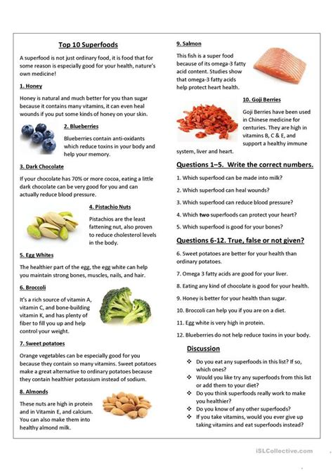 printable vitamin quiz food worksheets for high school categorization food